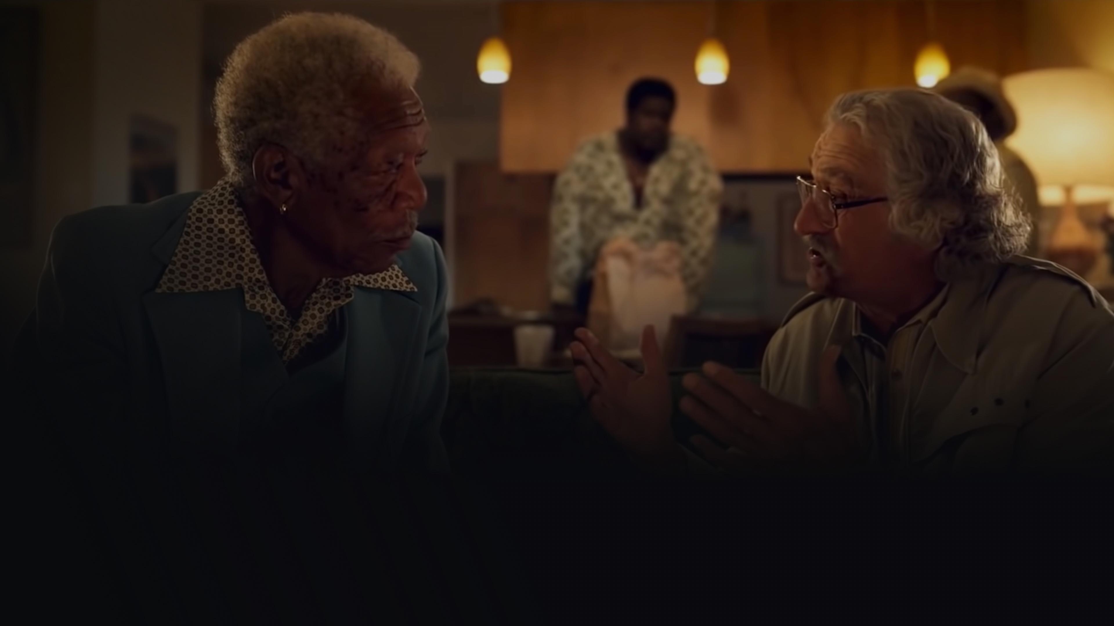 Spotlight: Morgan Freeman and Robert DeNiro background image
