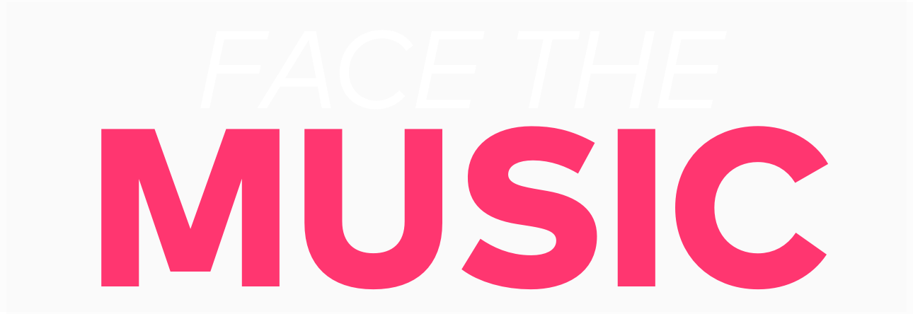 Face the Music Title Treatment