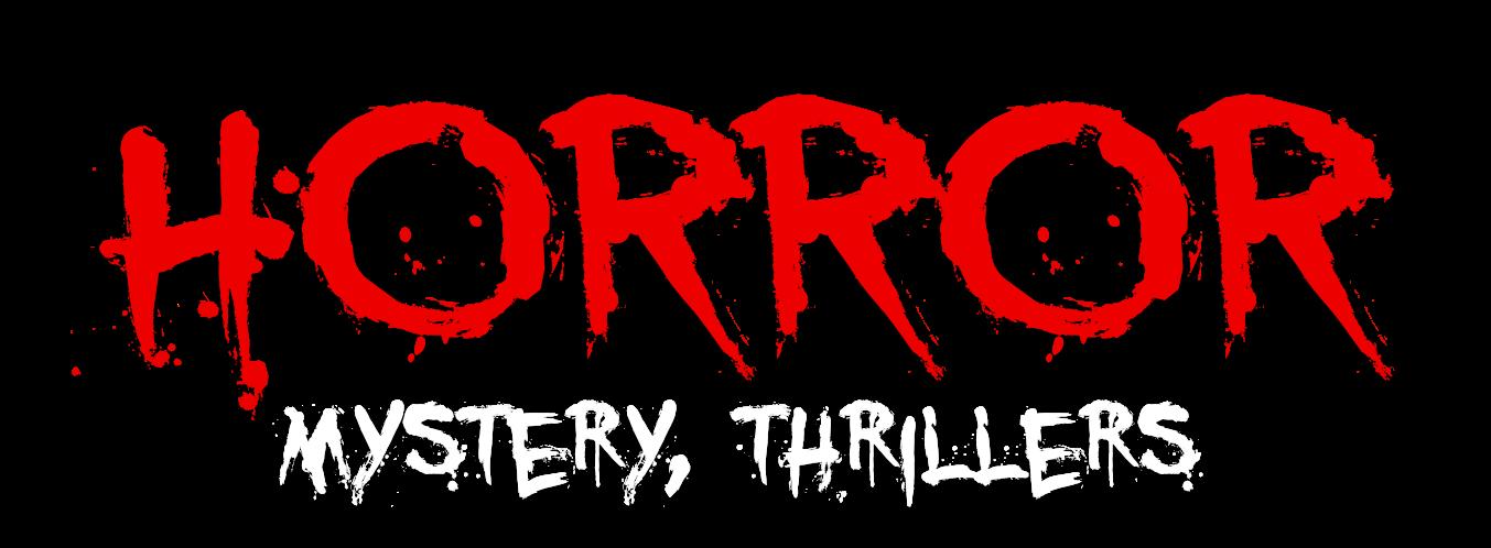 Horror Mystery Thriller title treatment