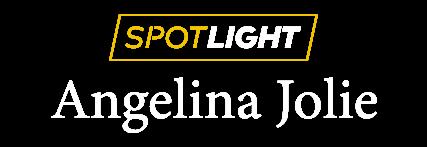 Spotlight: Angelina Jolie title treatment