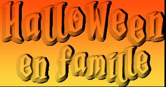 Titre Halloween en famille