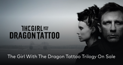 The Girl With The Dragon Tattoo On Sale