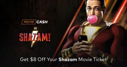 Shazam Movie Cash