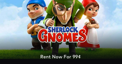 Sherlock Gnomes on Sale