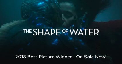 The Shape Of Water On Sale