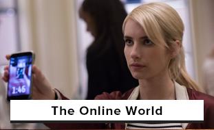 Movies involving the Web