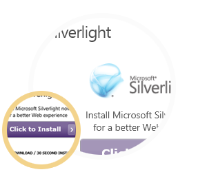 Silverlight instructions step 3 visual