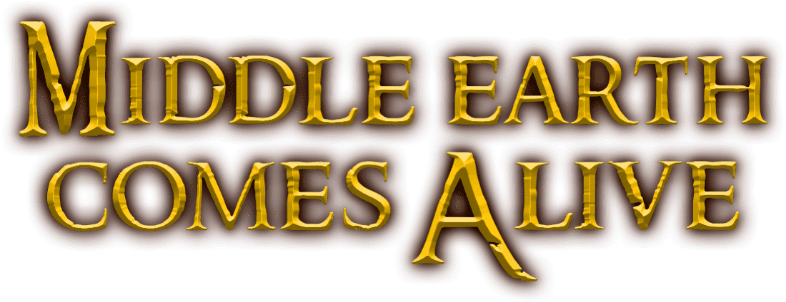 Middle Earth Comes Alive title treatment