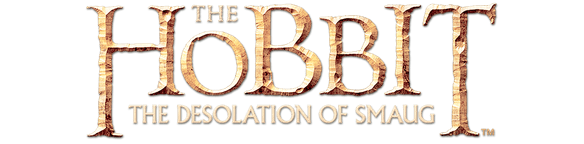 The Hobbit: The Desolation of Smaug title treatment