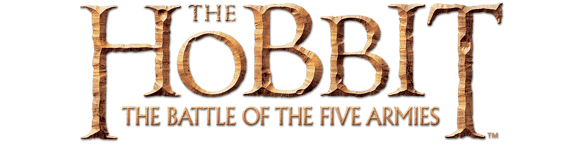 The Hobbit: The Battle of The Five Armies title treatment