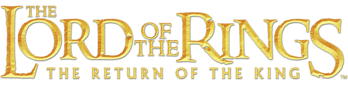 The Lord of The Rings: The Return of the King title treatment