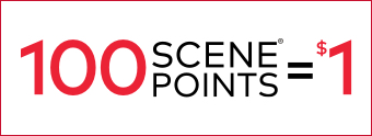 Earn 10x SCENE Points on select movies
